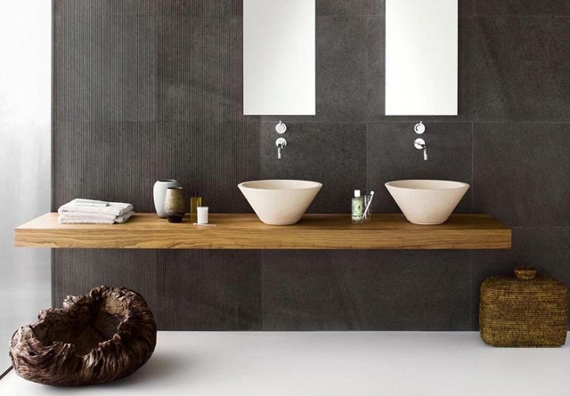 Elegant Modern Bathroom Interior